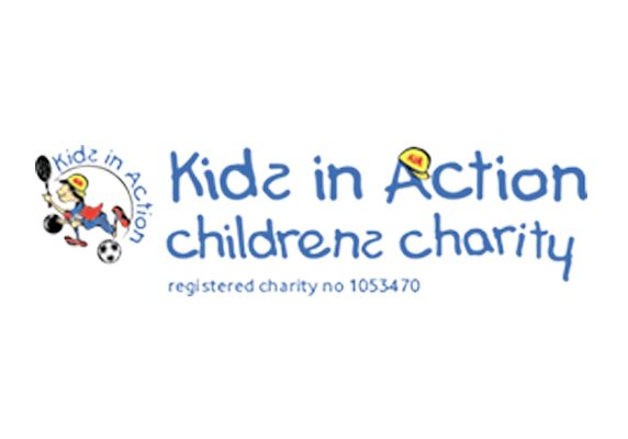 kids in action charity logo